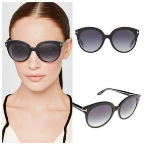 Tom Ford Black Monica Sunglasses w/ Box